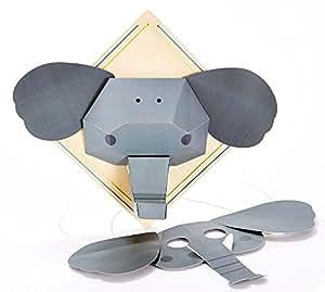 Hape International Hape International Hape Crafts Friendly Elephant Playset