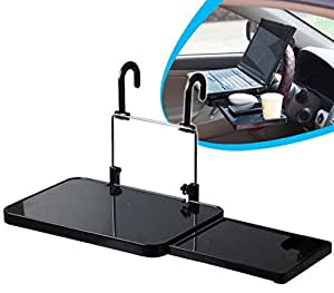 Saflyse Multifunction Car Mount Laptop Table Desk With