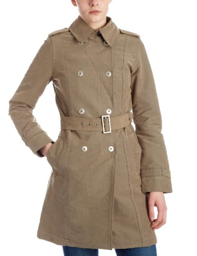 Timberland Women's Waxed Trench Coat Beige 28434-47