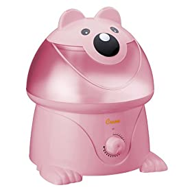 Crane Nursery Ultrasonic Humidifier - Pink