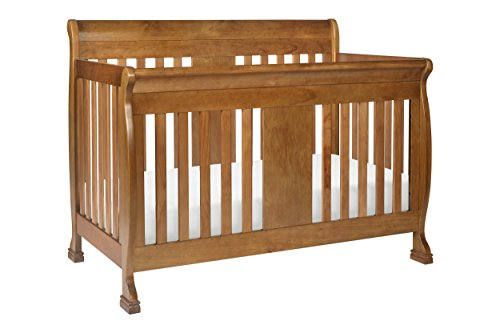 DaVinci Porter 4-In-1 Convertible Crib With Toddler Bed Conversion Kit, Chestnut - 1