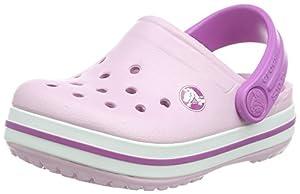 crocs Crocband K Pool/NPpl C4/5 - Zuecos de goma para niña