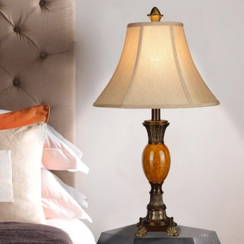 Table lamps bedroom furniture desk lamp bedside lighting for Bedroom nightstand lamps