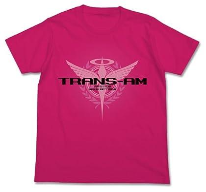 機動戦士ガンダム00 トランザムTシャツ トロピカルピンク Lサイズ