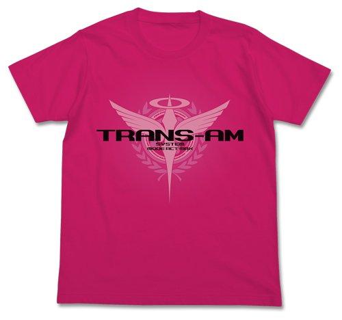 機動戦士ガンダム00 トランザムTシャツ トロピカルピンク Mサイズ