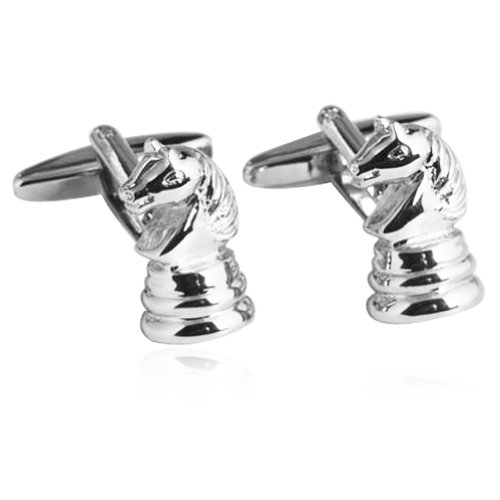 Knight in Chess Cufflinks