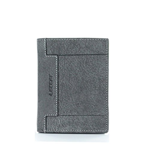 lecerf-cartera-gris-extra-suave-herren-geldborse-grau-grau-unica