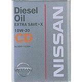 NISSAN エンジンオイル CDエクストラセーブ・X 10W30 4L [HTRC3]
