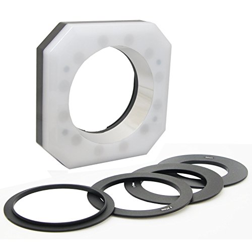 Opteka Rl12 Digital Macro Led Ring Light For Canon Eos 60Da, 60D, 50D, 5D, T4I, T3I, T3 And T2I Digital Slr Cameras