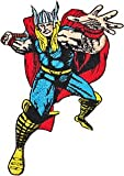 THOR PATCH, Officially Licensed Marvel's Avengers Comic Superhero, Iron-On / Sew-On, 4