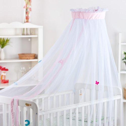 Dele Floor-Type Baby Mosquito Net / Children Mosquito Net With Bracket Dl6003 (Pink) front-687442