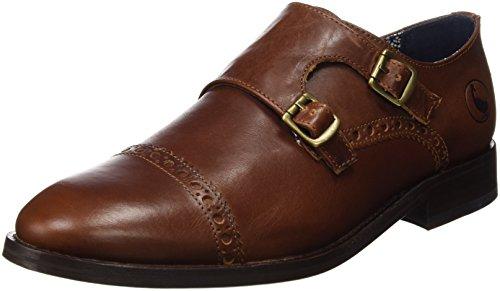 El Ganso Zapato Monk Marrón 1120W160014, Scarpe Uomo,  Marrone Size: 44