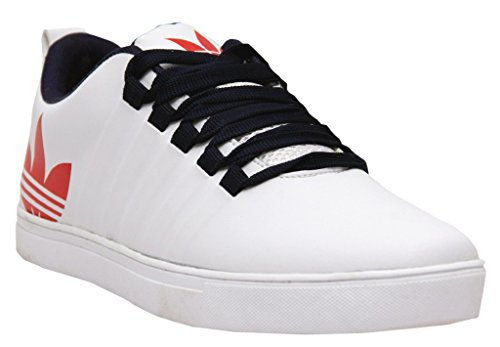 61% OFF on Black Tiger Men s Synthetic Leather Casual Shoes 8061-White on  Amazon  f17389944