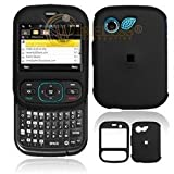 Premium Rubberized Black Snap-On Cover Hard Case Cell Phone Protector for L ....