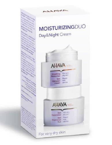 AHAVA  Moisturizing Duo Day & Night Cream For Very Dry Skin