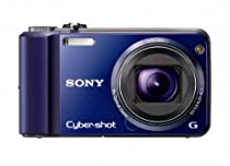 Sony Cyber-Shot DSC-H70 16.1 MP Digital Still Camera with 10x Wide-Angle Optical Zoom G Lens and 3.0-inch LCD (Blue)