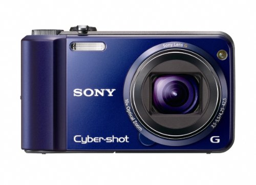 Black Friday Sony Cyber-Shot DSC-H70 16.1 MP Digital Still Camera with 10x Wide-Angle Optical Zoom G Lens and 3.0-inch LCD (Blue) Deals