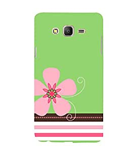 Pink Flower 3D Hard Polycarbonate Designer Back Case Cover for Samsung Galaxy On7 G600FY :: Samsung Galaxy On 7 (2015)