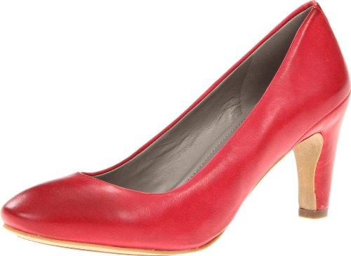 海淘高跟鞋推荐:ECCO Nephi 70 MM Pump 爱步高跟皮鞋红色