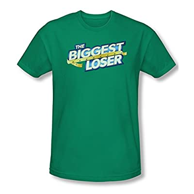 The Biggest Loser Team New Logo Green Slim Fit T-Shirt