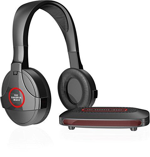 Sharper Image Bluetooth Wireless Earbuds: SHARPER IMAGE SHP921 Universal Wireless Headphones For TV, Black