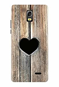 Noise Designer Printed Case / Cover for Lyf Water 10 / Signs & Symbols / Love Design