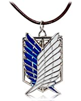 Sky Buddy Attack on Titan Dual Wing Pendant Necklace