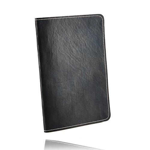 【Simplism】 iPad Air用 43グラム フリップケース ペンホルダー付フリップバンド付属 ブラック TR-SLCIPD13-BK