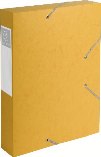 Exacompta 16006H Scatole Archivio, 24x32 cm, Giallo