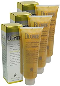 3x Graham Webb Golden Blonde Conditioner 250ml