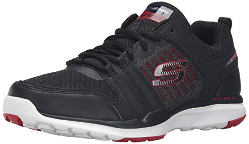 skechers-mens-quick-shift-tr-low-top-sneakers-black-size-10