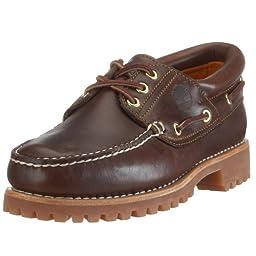 Timberland Men\'s Classic 3 Eye Lug Boat Shoe,Brown,10.5 M US
