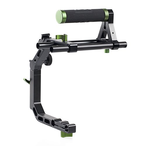 Lanparte C Support Clamp &Top Handle Set for 15mm Rail Rig System (Dslr Video)