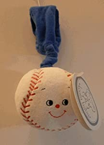 Baby Soft Wrist Toy ~ Baseball