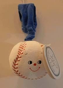 Baby Soft Wrist Toy ~ Baseball