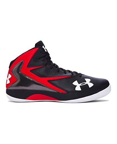 Under Armour Men's UA Lockdown Basketball Shoes 10 Black (Shoes Basketball Men compare prices)