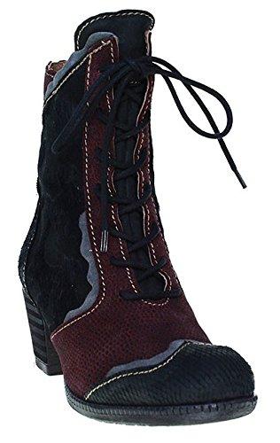 Fascino-Stivaletti allacciati,-Nero   colore: bordeaux, nero (nero), 41 EU
