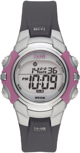 Timex Women's T5J151 1440 Sports Digital Black Resin Strap Watch