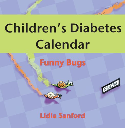 Children's Diabetes Calendar: Funny Bugs