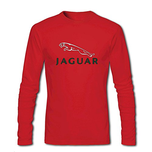 Fashion Jaguar long sleeve Tops T shirts -  Maglia a manica lunga  - Uomo Red Medium