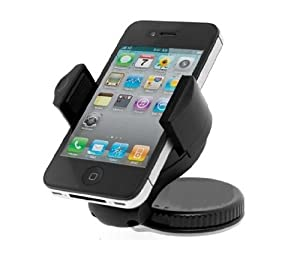 Universal Mobile Phone Windshield Car Holder For Mobile Phones / Gps / Psp / Ipod / Iphone 4s / Iphone 4g / Iphone 3gs / Htc / Motorola Driod / Samsung Galaxy Sii / Samsung / Lg Phones / Etc.. by WindshielMount