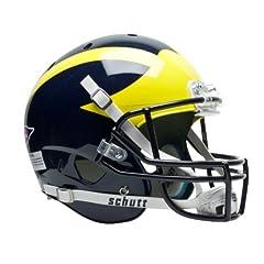 NCAA Michigan Wolverines Replica XP Helmet by Schutt