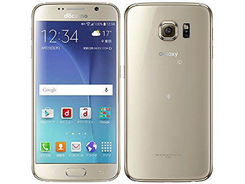 SAMSUNG Galaxy S6 SC-05G docomo [Gold ...