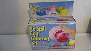 No Spill Easter Egg Coloring Kit