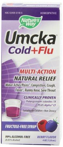 Voie de la Nature Umcka Rhume et grippe Sirop,