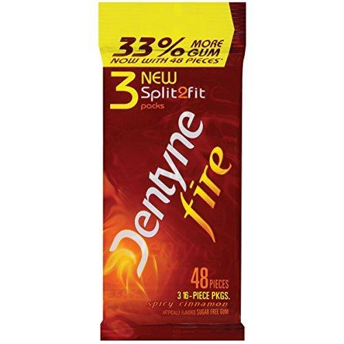 dentyne-fire-sugar-free-gum-spicy-cinnamon-3-x-16-piece-sleeve-pack-of-20-by-dentyne