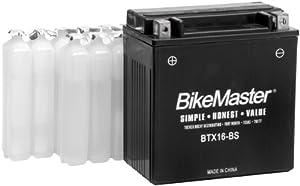 BikeMaster High Performance Maintenance Free Battery - BTZ10S BTZ10S