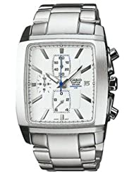 Casio Edifice Analog White Dial Men's Watch - EF-509D-7AVDF (ED213)