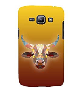 Cow is Ghai Cute Fashion 3D Hard Polycarbonate Designer Back Case Cover for Samsung Galaxy J1 2016 :: Samsung Galaxy J1 2016 Duos :: Samsung Galaxy J1 2016 J120F :: Samsung Galaxy Express 3 J120A :: Samsung Galaxy J1 2016 J120H J120M J120M J120T
