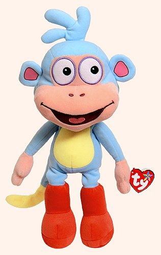 Ty Beanie Buddies Boots Monkey Medium Plush